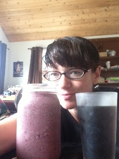Shauna breakfast pic smoothie
