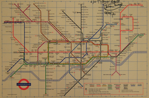Fehrenberg the tube o nauts (london underground map) alta