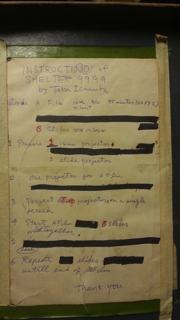 Shelter9999 instructions