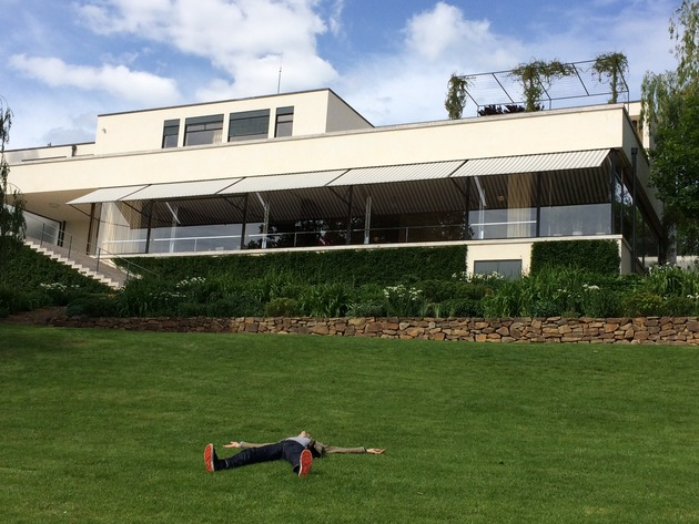 Paul in bliss at tugendhat