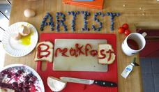 Artist breakfast