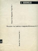 Dobrowolski  muzyka na tasme mag nr 1