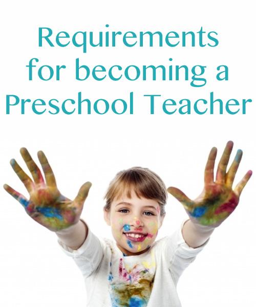 Preschool Teacher Requirements