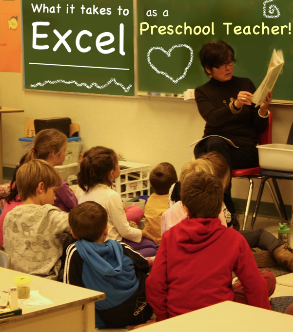 what it takes to excel as a preschool teacher