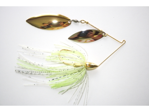 Nickle Spinnerbaits Double Willow 1/2oz