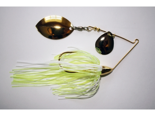 Finesse Spinnerbait Colorado Indiana 5/16oz Gold
