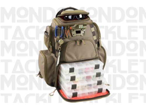 Lighted Tackle Box-Backpack  Tackle Tec Nomad-Lighted w/ Trays