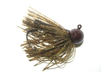 Skirted Football Head Jigs - 3/4oz-2pk