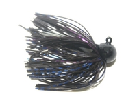 Skirted Football Head Jigs - 1/4oz-2pk