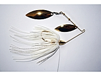 Gold Spinnerbaits Double Willow 1/2oz