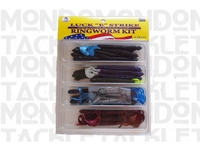 Ringworm Fishing Kit 43 Piece
