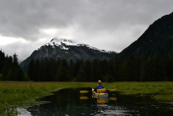 Kayaking in the Tongass. Photo courtesy of the Sitka Conservation Society.