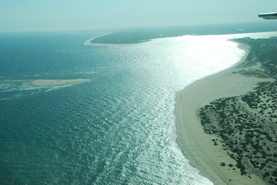 Made up of ten islands off the coast of northern Mozambique, this coastal marine reserve in the Primeiras and Segundas Archipelago will cover more than 4020 square miles. Photo by: Caroline Simmonds/WWF-US.
