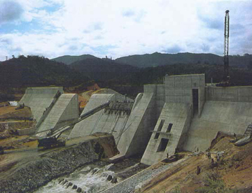 Kihansi River dam. Photo by: UNESCO.