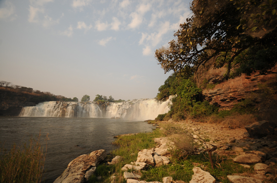 More waterfalls in Upemba. Photo courtesy of the FZS.