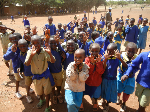 Lewa Primary School Students. Photo courtesy of the LWC.