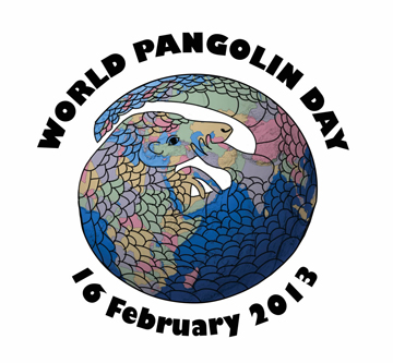 The Second Annual World Pangolin Day is this weekend. Image courtesy of Project Pangolin.