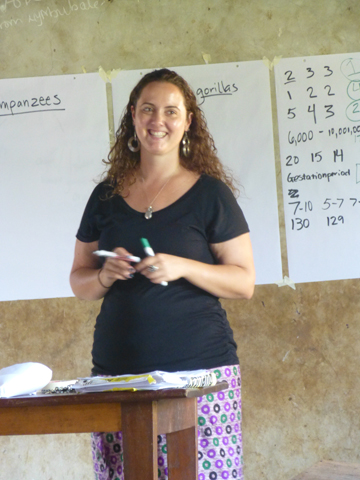 UNITE Director Michelle A. Slavin facilitating a GAEP training. Photo courtesy of Michelle Slavin.