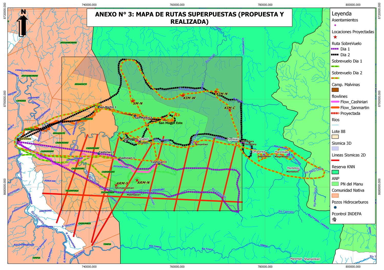 Manu National Park Map Manu National Park