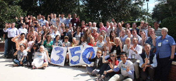 Participants in Zoos and Aquariums for 350 at the meeting last month. Photo courtesy of CBSG.