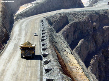 Open pit coal mine in Australia. The nation is the fourth largest producer of coal and the biggest exporter. Photo by: Rhett A. Butler.