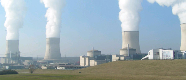 Nuclear power plant in Cattenom, France. Nuclear power makes up nearly 75 percent of France's energy. Some climatologists, including James Hansen, are increasingly vocal that the risks of nuclear power are far less than fossil fuel energy. Photo by: Gralo.