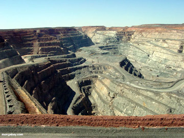 Open pit coal mine in Australia. Photo by: Rhett A. Butler.
