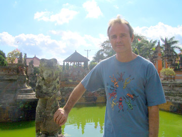 Mitch Aide in Bali, Indonesia. Photo courtesy of Mitch Aide.