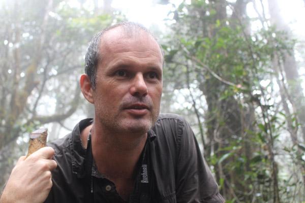 Erik Meijaard. Photo courtesy of: Erik Meijaard.