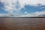 The muddy Amazon