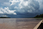 Thunderhead over the Amazon River