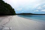 Beach on Peucang Island [java_0137]