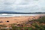 Indian Ocean Ujung Kulon beach