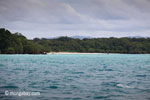 Garis pantai Ujung Kulon