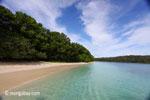 Peucang Island beach