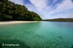 Peucang Island beach [java_0475]