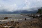 Dock and beach near Sunur [java_0846]