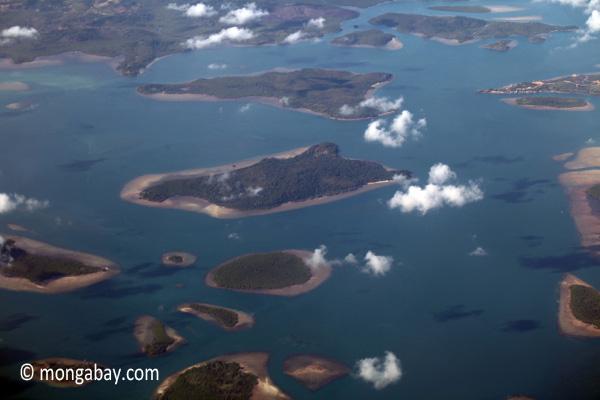 Islands near Sumatra