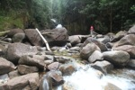 Riam Berasap waterfall in Gunung Palung National Park [kalbar_0767]