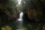 Riam Berasap waterfall in Gunung Palung National Park [kalbar_0784]