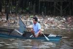 Man fishing in Banjarmasin
