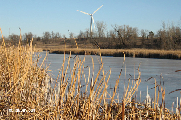 Wind turbine in Minnesota, U.S. Photo by: Tiffany Roufs.