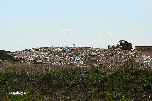 Landfill in the U.S.