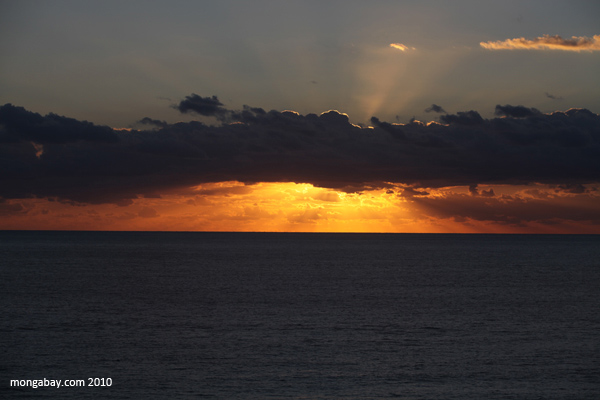 Sunrise in Cancun, Mexico, where the 2010 UN Climate Summit was held. Photo by: Rhett A. Butler.