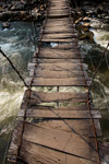 Tali jembatan dekat Wamena