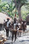 Group in Dani in a highland village [papua_0379]