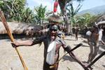 Dani elder in traditional costume
