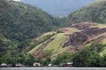 Deforestasi sekitar Danau Sentani