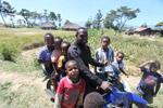 Papua pria dengan banyak anak