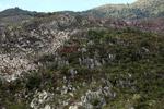 Kapur formasi batuan di New Guinea